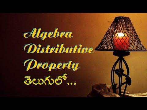 Algebra through Telugu, Distributive Property, 20 Problems