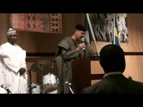 Nigeria Embassy Stockholm National Day Party 2013