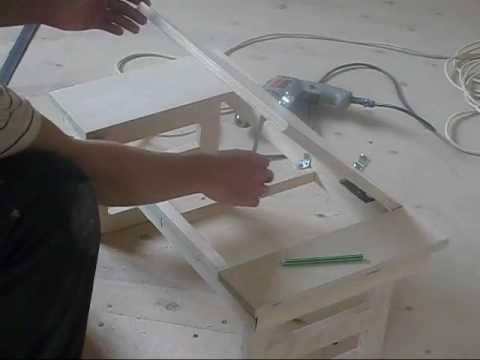 Столик для ноутбука своими