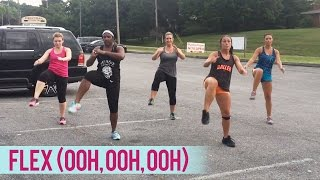 Rich Homie Quan - Flex (Ooh, Ooh, Ooh) - Boot Camp Style | Dance Fitness with Jessica