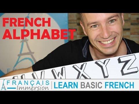 French Alphabet Letters Pronunciation Sounds L Alphabet