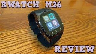 RWATCH M26 Smartwatch REVIEW