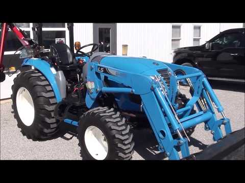 LS XR4046H Tractor With Loader For Sale! One Owner!