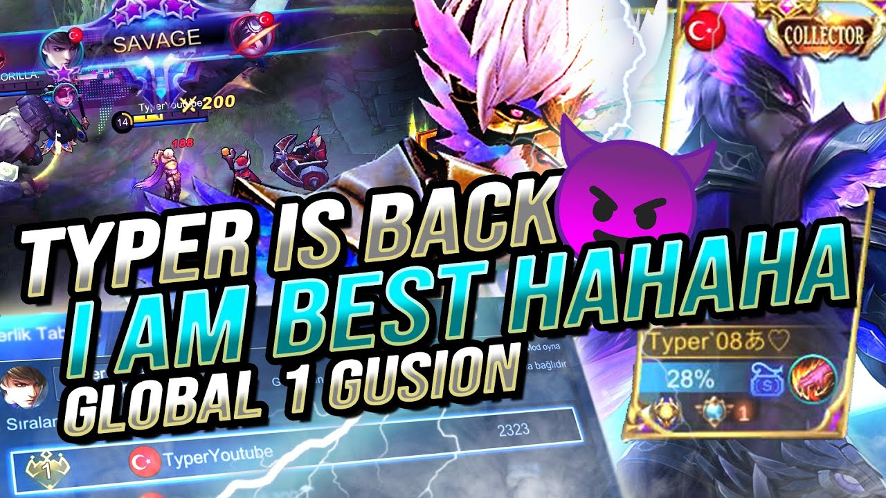 Download GLOBAL 1 GUSION TYPER IS BACK  / IM BEST HAHAHA.
