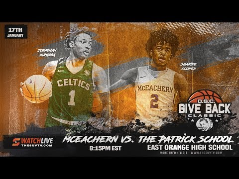 O.S.C. Giveback Classic - McEachern & SHARIFE COOPER Vs. The Patrick School