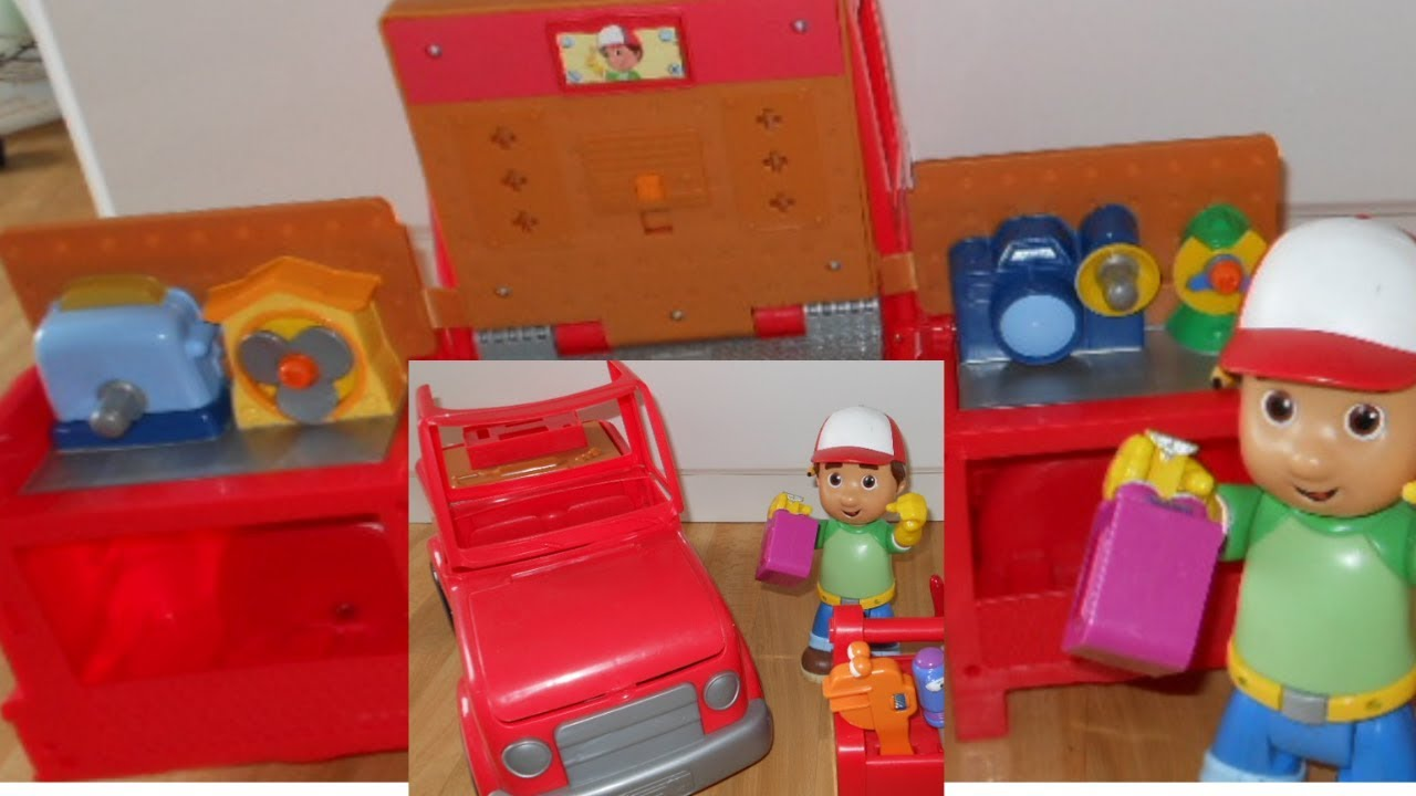 Fisher Price Handy Manny S Transforming Tool Truck