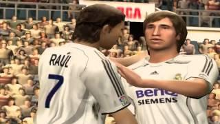 FIFA 07 PC Gameplay #1 Real Madrid vs Barcelona 2-1