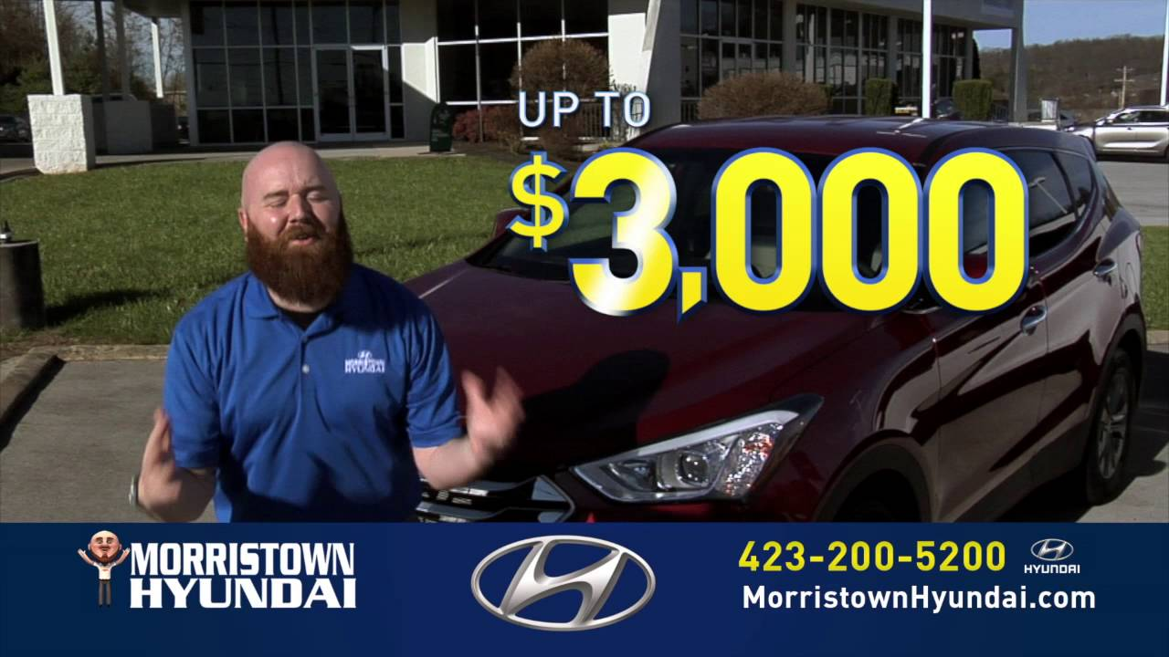 morristown hyundai 3000 more than your trade is worth somerset knoxville area youtube. Black Bedroom Furniture Sets. Home Design Ideas