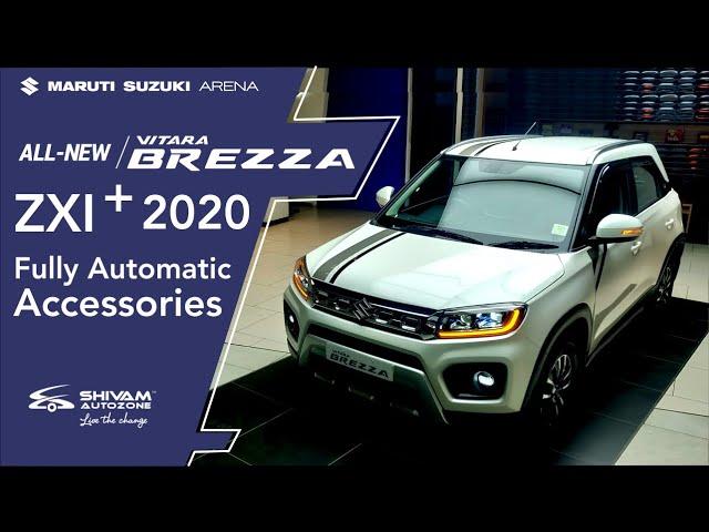 New Vitara Brezza Petrol 2020 ZXI+ BS6 Automatic-Accessorize