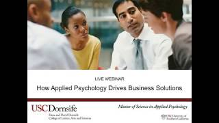 How Applied Psychology Drives Business Solutions