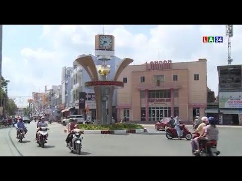 Tân An: Đường phố đông đúc trở lại sau lệnh nới lỏng cách ly | LONG AN TV