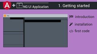 angular 2 4 ng ui application tutorial 1 getting started