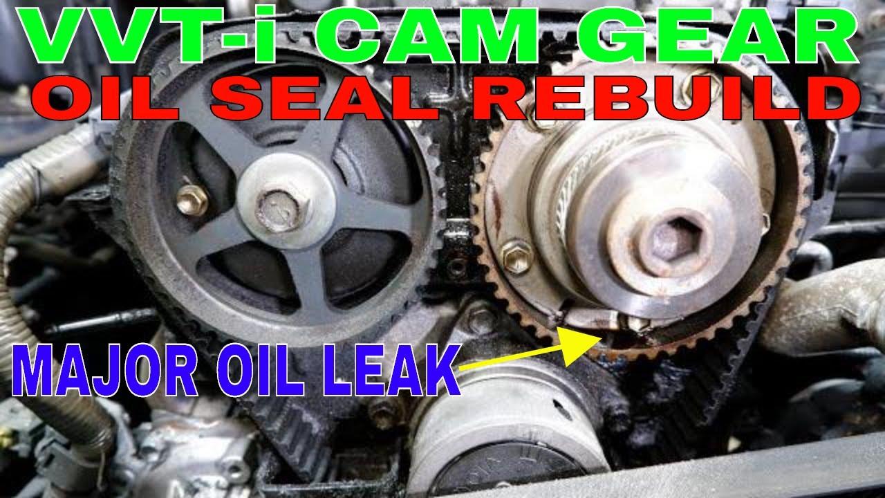 How To Rebuild VVTi Cam Gear-Lexus Toyota | VVT-i Seal Replacement | DIY VVTi Gear Rebuild