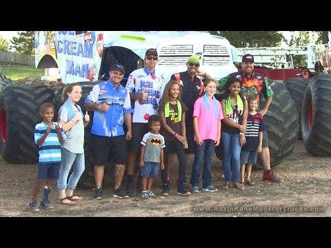 Team RKMTs all three trucks,8/26/16,Phenix City, Alabama