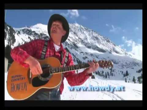 Howdy- Sandalen im Schnee.