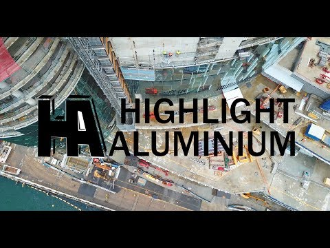 Highlight Aluminium Facade Installation - Crown Hotel Resort Sydney
