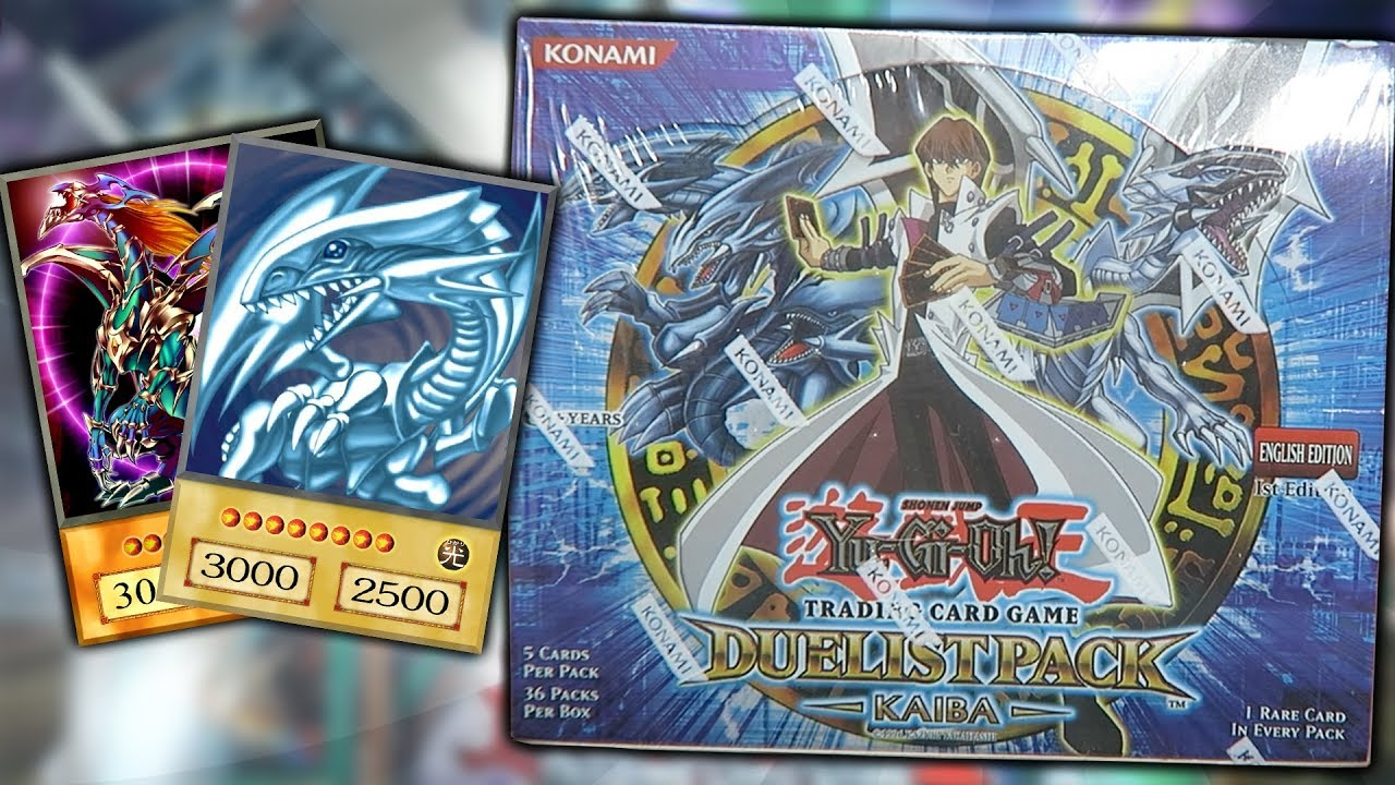 Duelist pack: yugi 1st edition booster box yu-gi-oh sealed.
