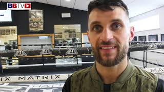 LIAM TAYLOR: AWAITING DATE FOR BRITISH TITLE FIGHT WITH CHRIS JENKINS
