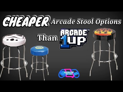 Cheaper Arcade Stool Alternatives Other Than Arcade1up from Show-Me Retro