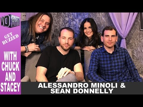 Creators of Comedy Central's Jeff & Some Aliens, Alessandro Minoli & Sean Donnelly | Cartoons Actor