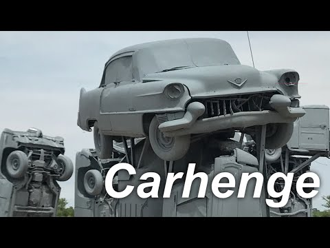 Roadtrip USA Vlog - Day 11 - Carhenge in the Nebraska wilderness
