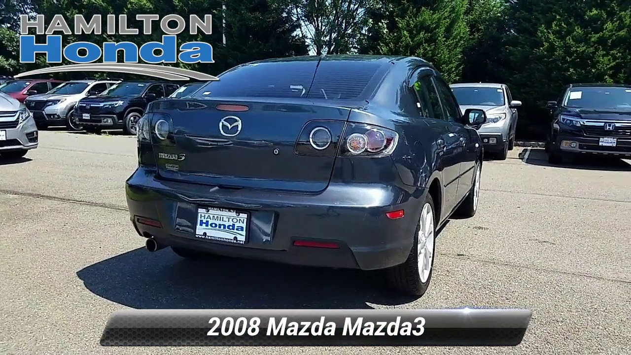 Used 2008 Mazda Mazda3 I Touring Value Hamilton Township Nj 27103t