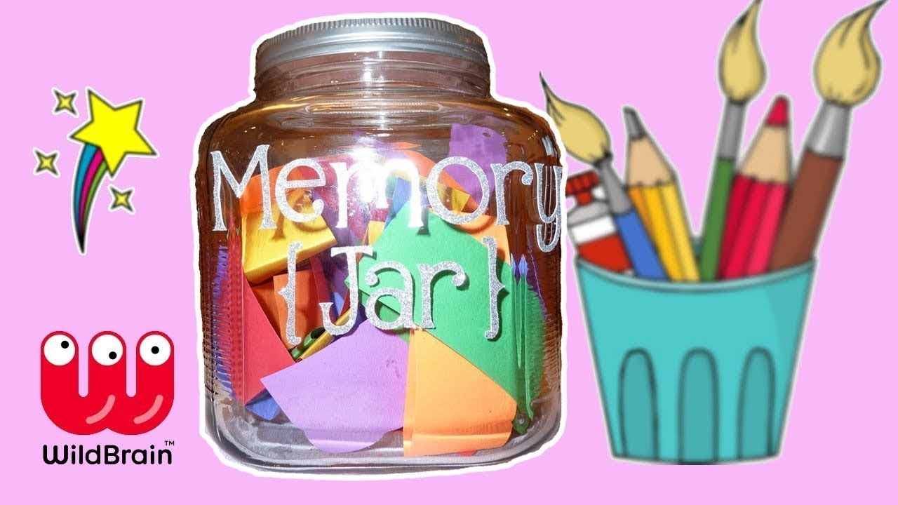 How To Make A Memory Jar For Your Best Friend Diy Ideas For Best Friends Wildbrain Toy Club Youtube