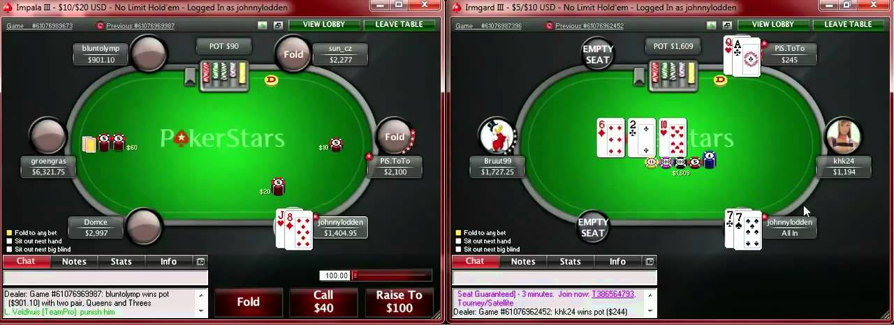 Pokerstars Sh