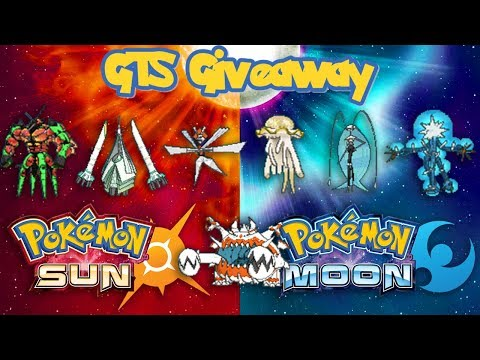 LIVE - Pokémon Sun & Moon/Ultra GTS Giveaway - Shiny Ultra Beasts Are Back!