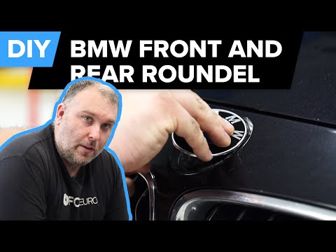 How To Easily Replace a BMW Roundel – Badge/Emblem Swap