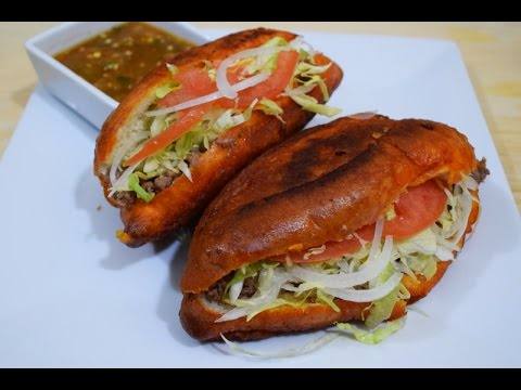 "How to Make ""Pambazos"" Mexican Street Food"