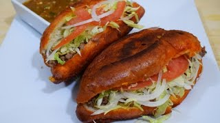 """How to Make """"Pambazos"""" Mexican Street Food, easy and delicious"""