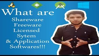 What are Freeware, Shareware & Licensed Softwares? - (Urdu/Hindi)