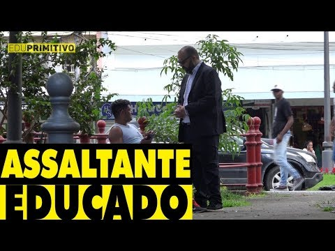 ASSALTANTE EDUCADO - #DESAFIO12