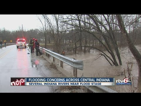 Flooding concerns across Central Indiana