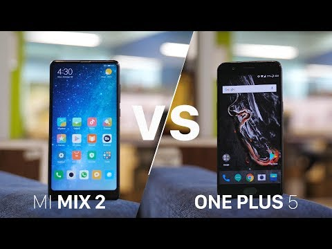 Mi Mix 2 vs OnePlus 5: The Best Affordable Flagship?