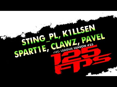 125fps #23 - k1llsen, pavel, clawz, spart1e, sting_pl  - Group C2 - Quake Live