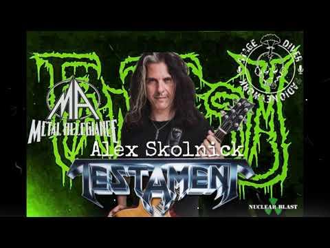 FANTASM:Alex Skolnick of Metal Allegiance/Testament Interview