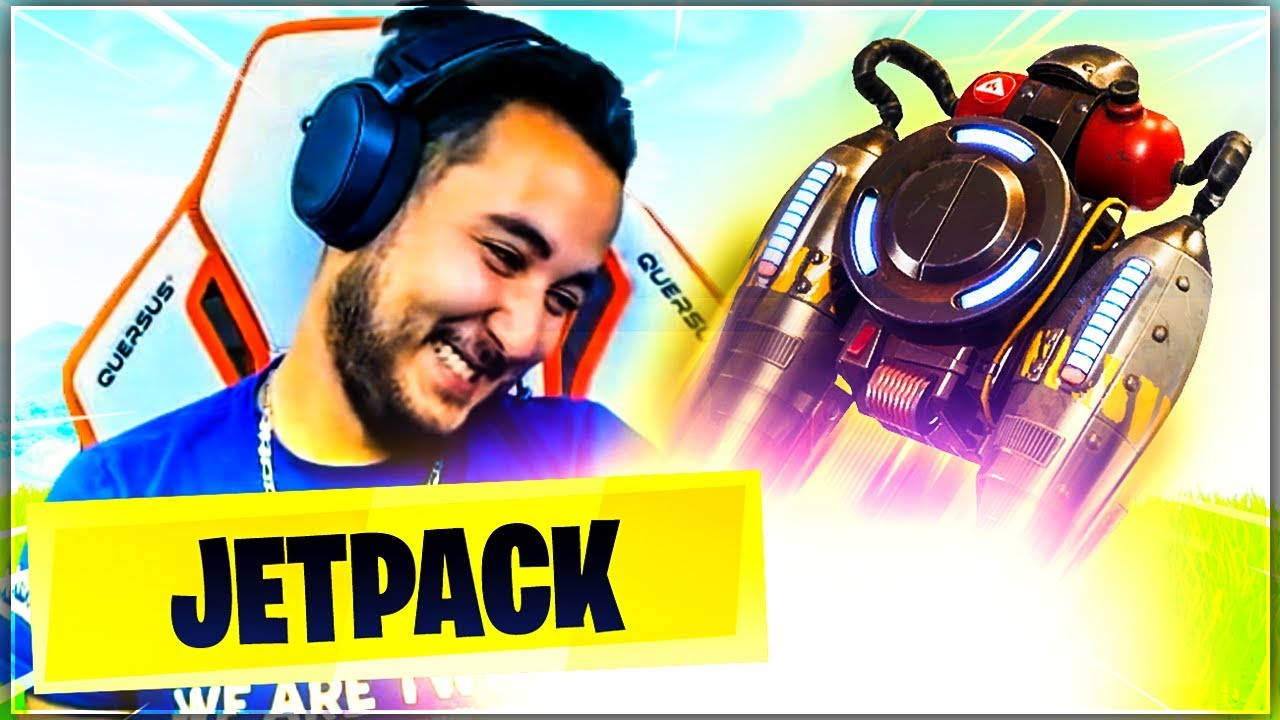 MA PREMIERE SKYBASE AVEC LE JETPACK ! ► FORTNITE