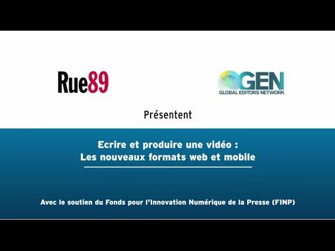 MOOC Rue89 - Ecrire et produire une vidéo : les nouveaux formats web et mobile (teaser)
