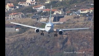 INCREDIBLE crosswind landings || A330 B757 A321 || Bumpy App...