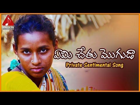 Emi Chetu Moguda Telugu Sentimental Song | Telangana Video Songs | Amulya Audios And Videos