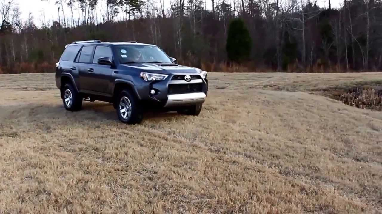 Amazing 2014 Toyota 4Runner Trail Edition Off Roading   YouTube