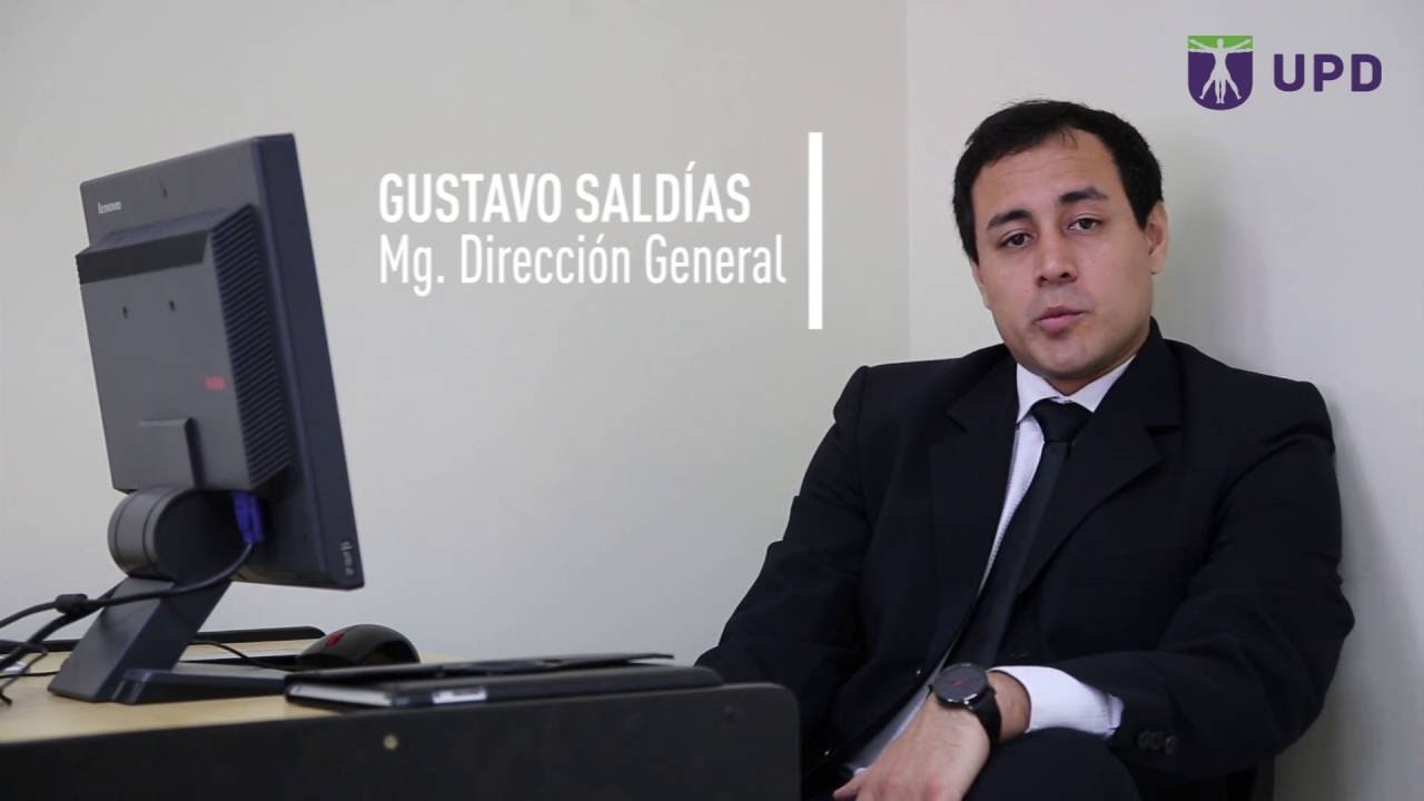 Mg. Gustavo Saldias. Docente de Marketing y Negocios ...