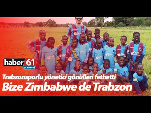 Zimbabweli çocuklara Trabzonspor