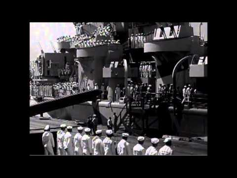 President Roosevelt and Party Arrive at Pearl Harbor on USS Baltimore, 07/30/1944