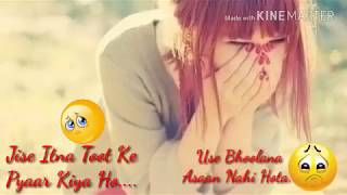 Tujhe Bhula Diya - New Whatsapp Status Video