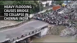 Weather Gone Viral: Bridge Collapse