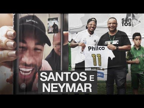 NEYMAR: SANTOS VISITA O INSTITUTO DO CRAQUE