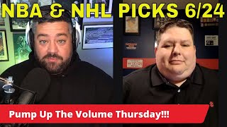 Sports Betting Prop Report   NBA Clippers vs Suns   NHL Canadiens vs Golden Knights   June 24